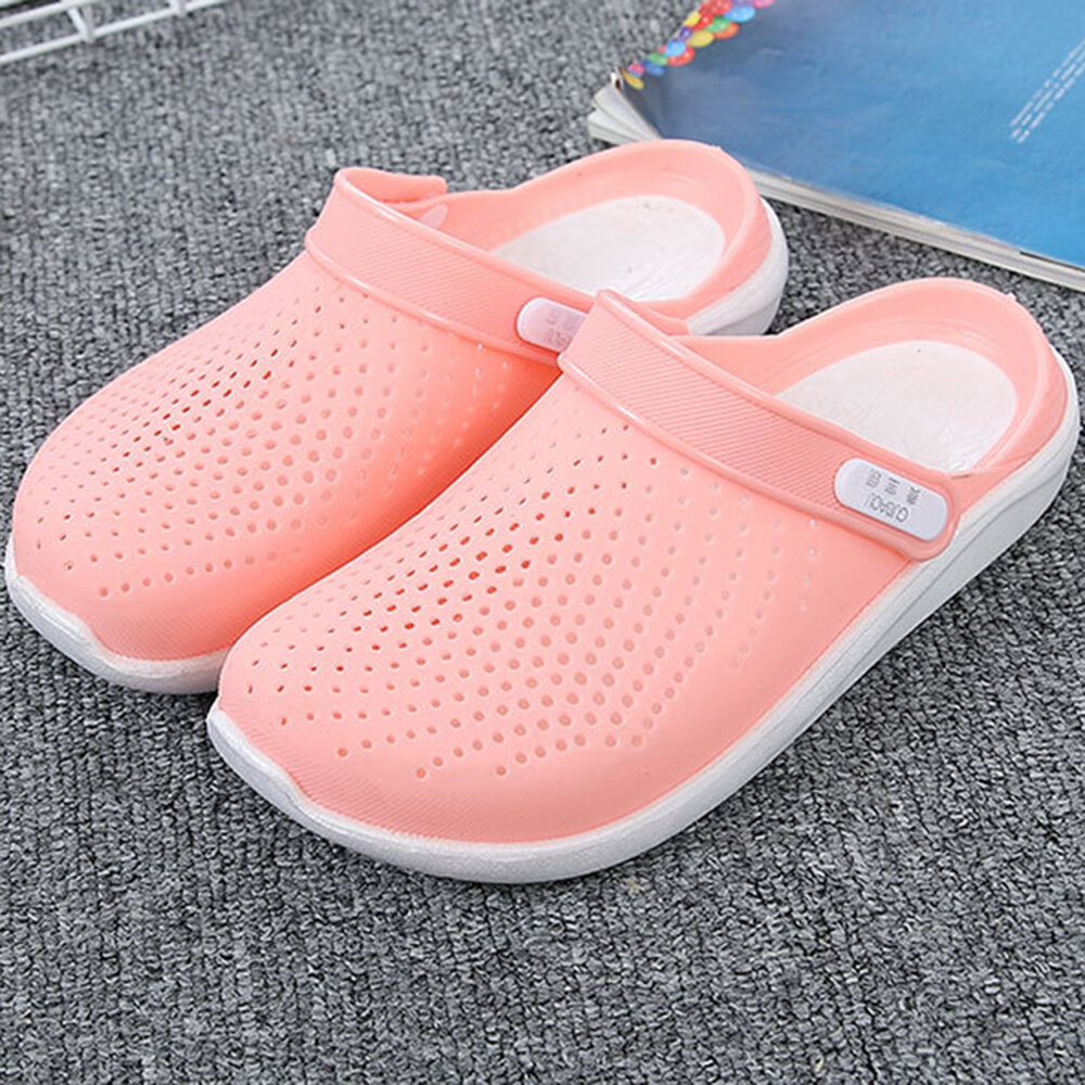 Closed Toe Opened Heel Hollow Out Light Beach Summer Sandals