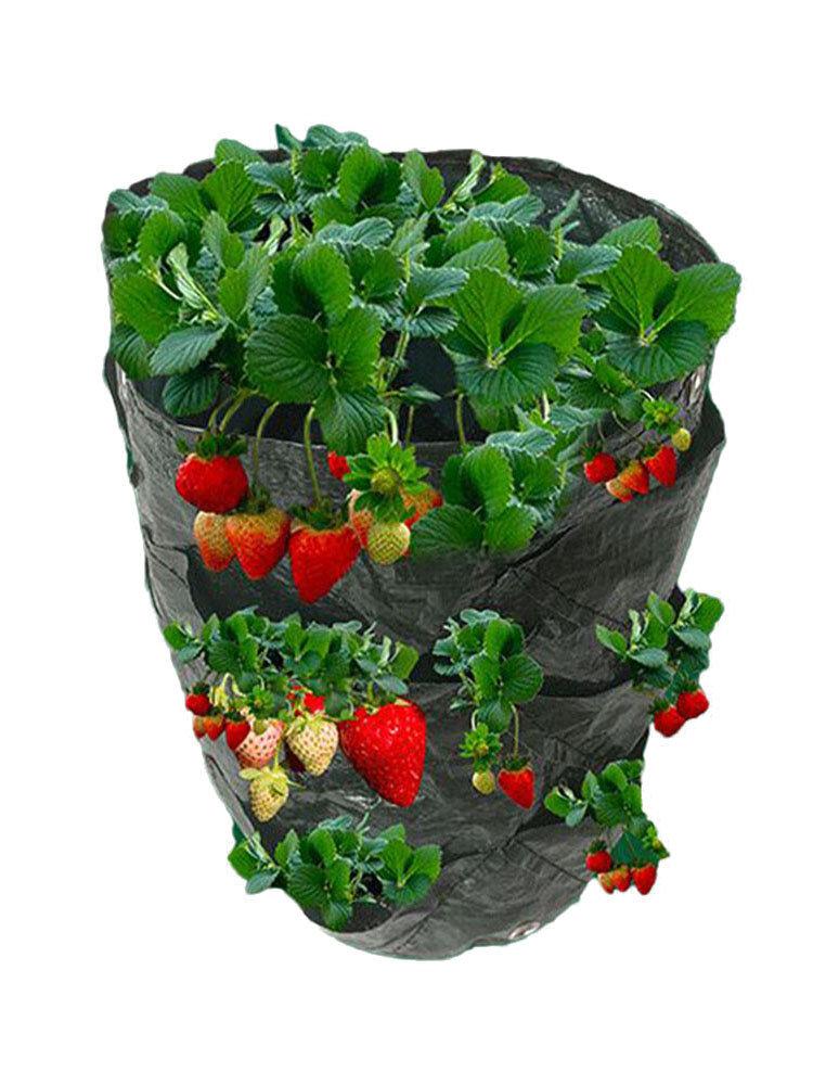イチゴ植栽バッグハンギングバスケットファミリーガーデンクリエイティブハンギングフラワーポット