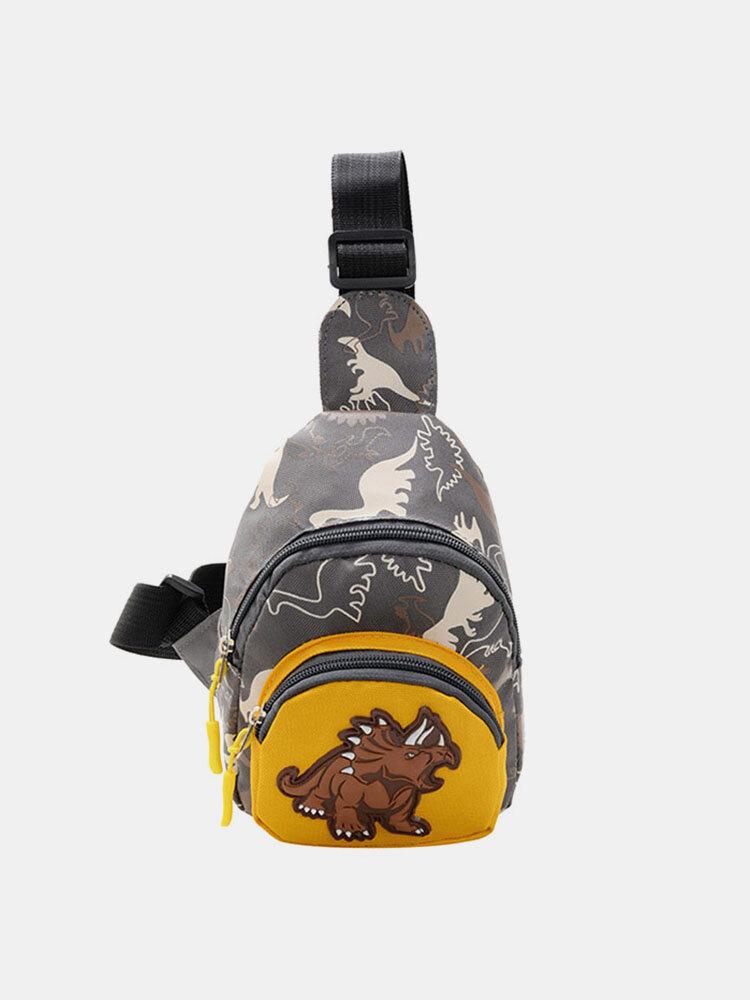 Dinosaur Waist Bag Crossbody Bag Fashion Kid Chest Bag Coin Purse Baby Bag
