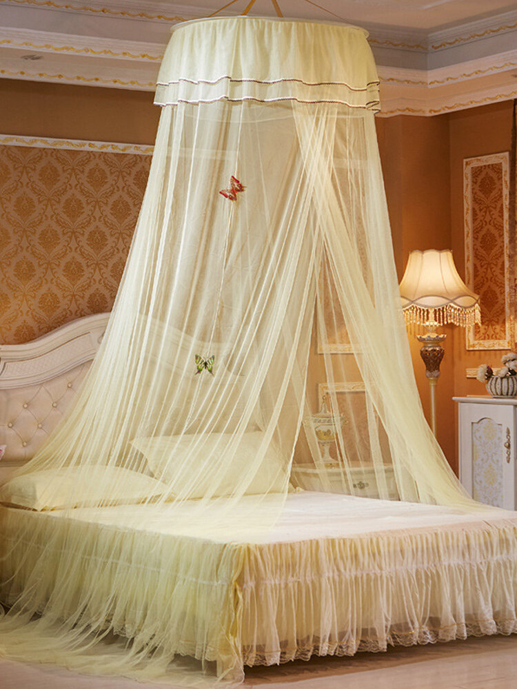 Techo Dome Toldo grande para cama con mosquitero Máxima protección contra insectos Sin irritación de la piel
