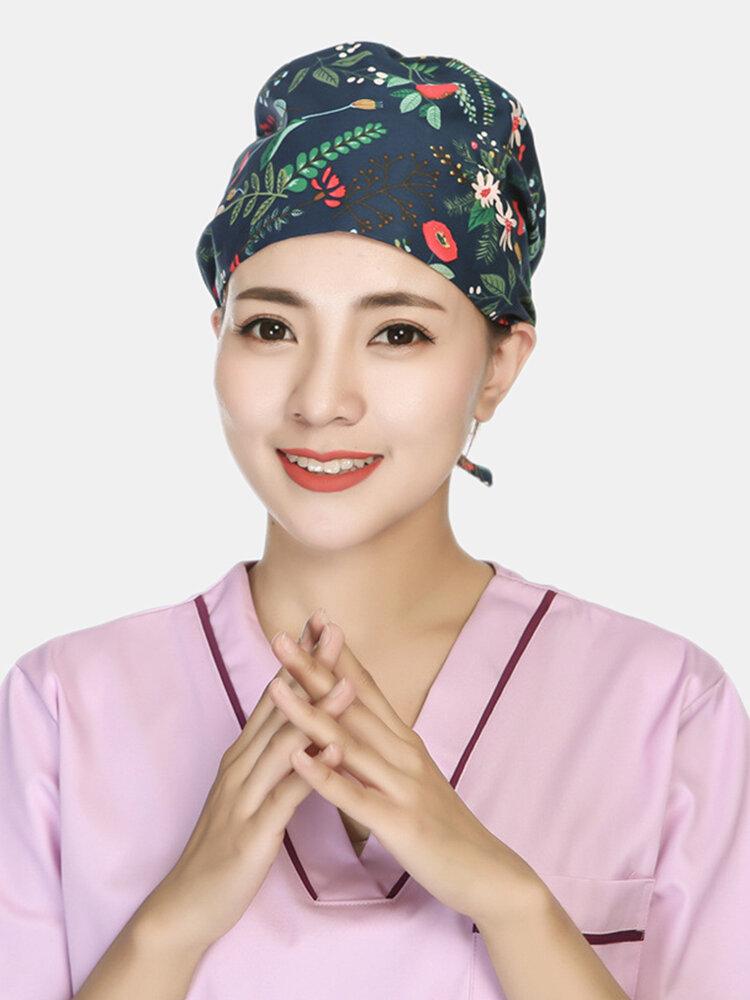 Scrub Caps Surgical Cap Cotton Chemotherapy Thin Doctor Nurse Hat