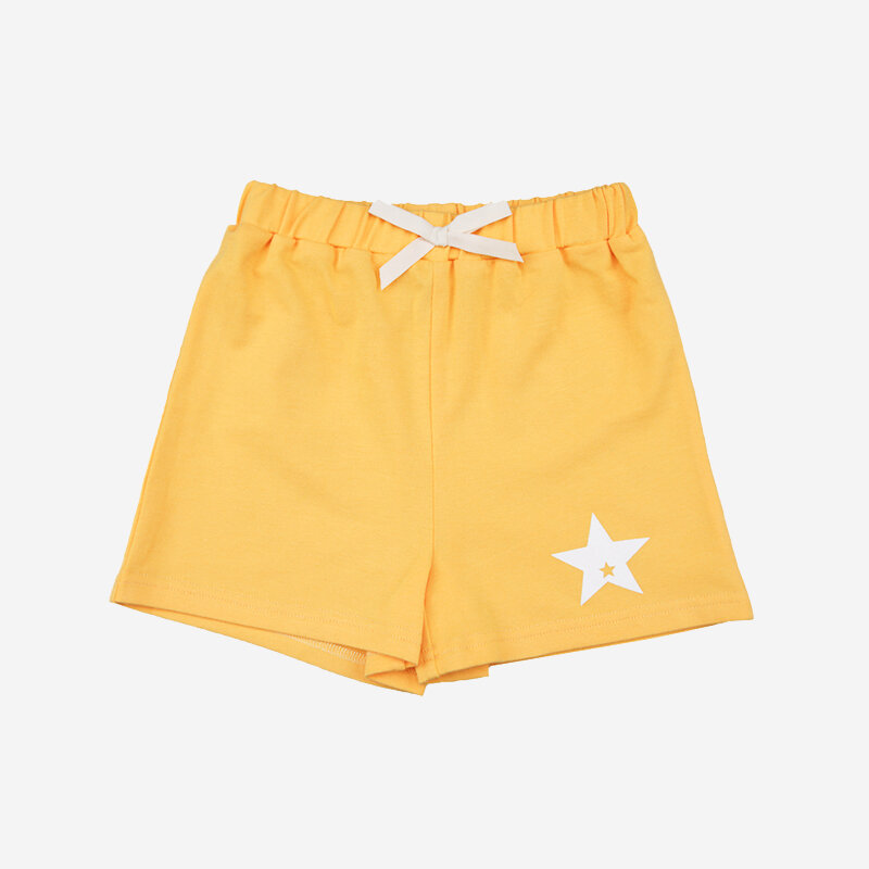 Kid's Beach Sports Summer Cotton Casual Shorts Pants For 1-5Y