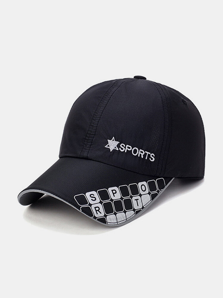 Women Men Cotton Ultra-thin Breathable Quick-drying Mesh Sport Riding Comfortable Net Baseball Cap