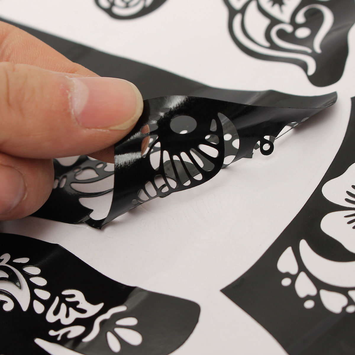 ボディーアートタトゥーツールのタトゥークリームの黒の一時的なタトゥーモデルハンドフットモデル