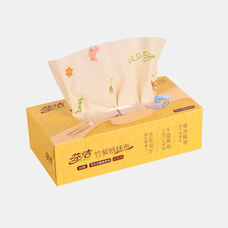 Newchic coupon: 1 BOX Graphic Printing Washable Kitchen Paper Removable Box