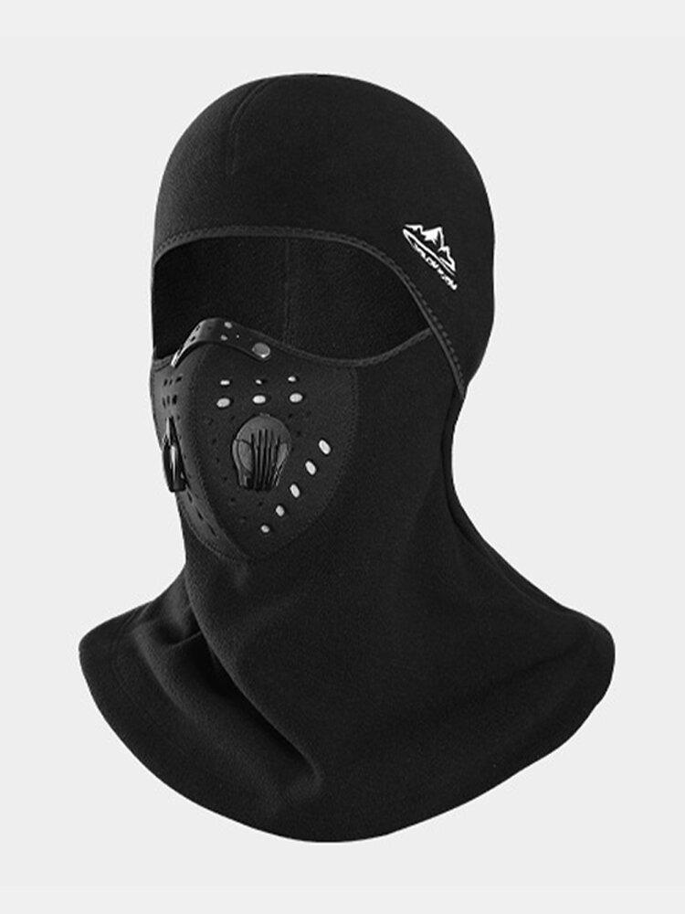 Outdoor Dustproof Mask Windproof Velvet Breathable Mask