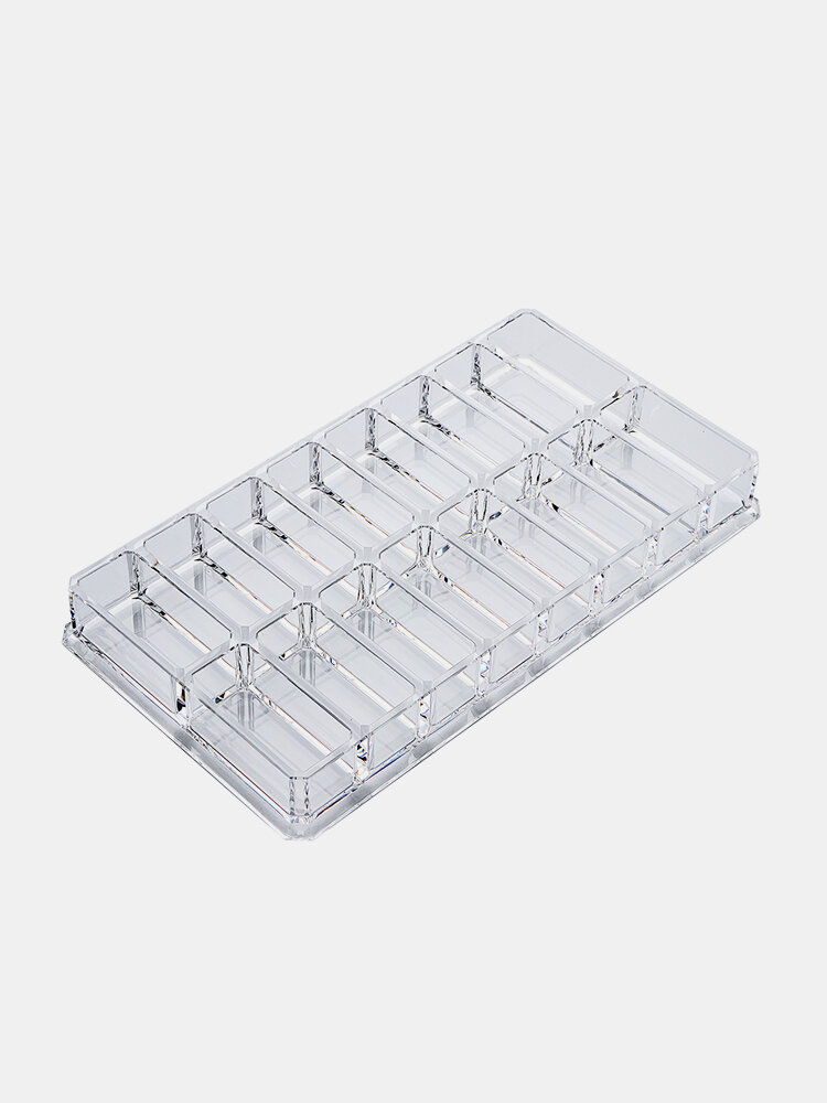 16 Space Eyeshadow Storage Blush Organizer Cosmetic Makeup Holder For Beauty Tool