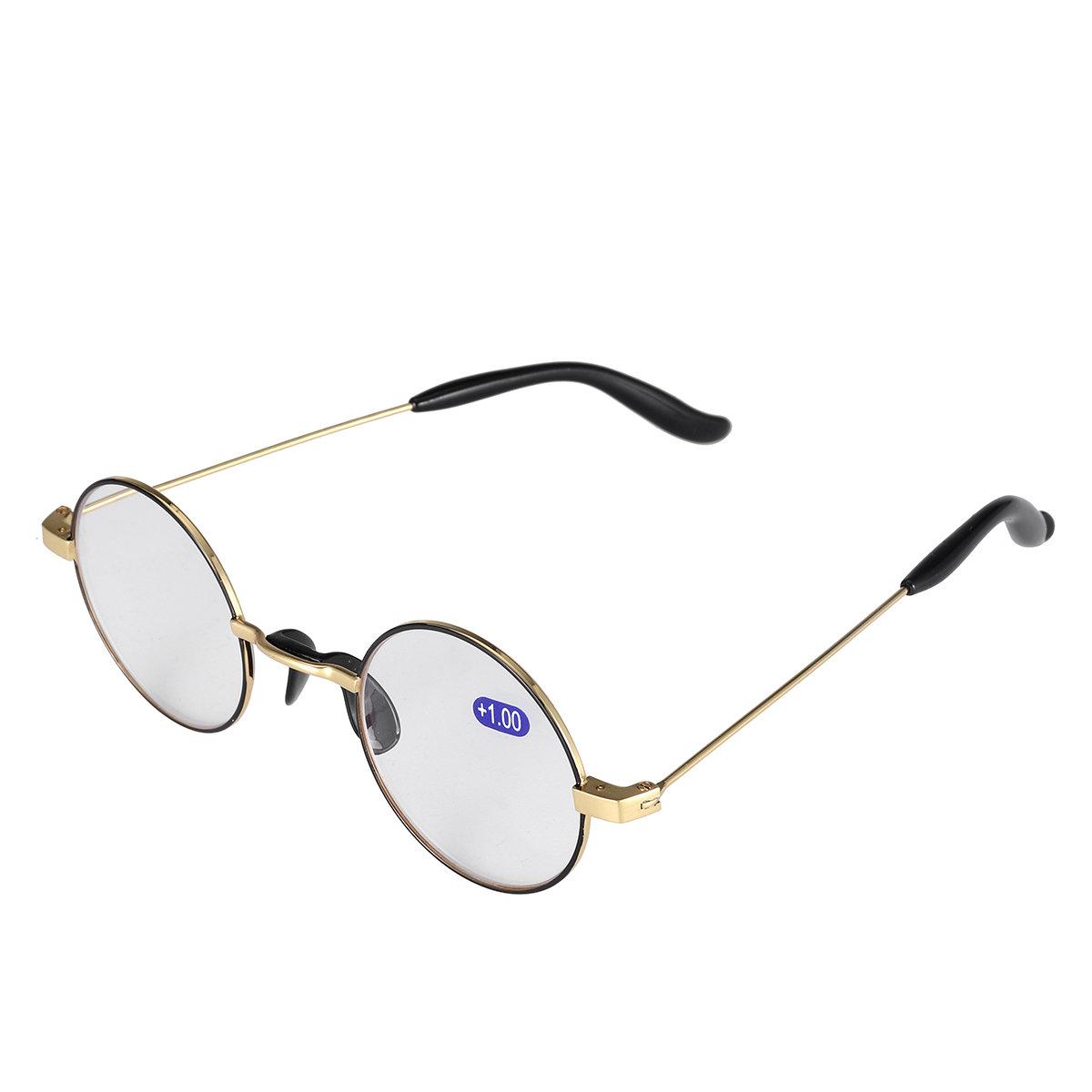 نظارات للقراءة بإطار دائري مضاد للنظارات الزرقاء للنساء والرجال نظارات الكمبيوتر