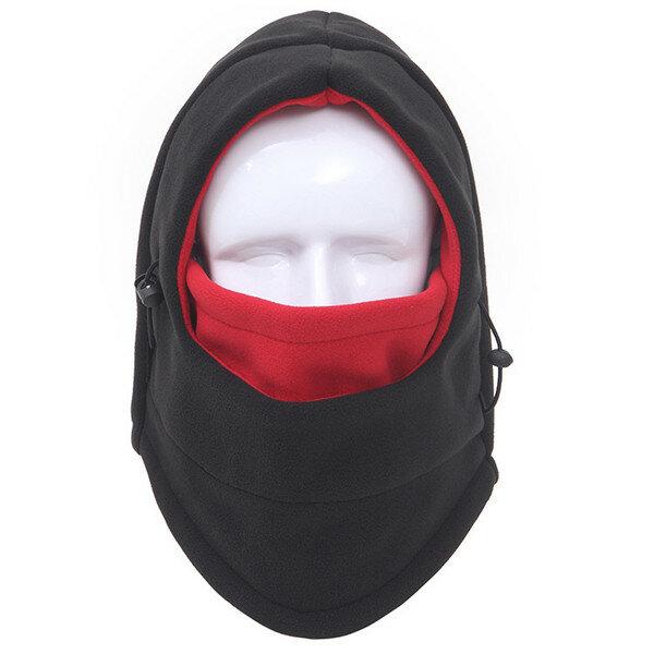 الرجال النساء سمكا الصوف الدافئة يندبروف أوتور الرياضة كاب التنزه قبعات تزلج كامل حماية قناع الوجه