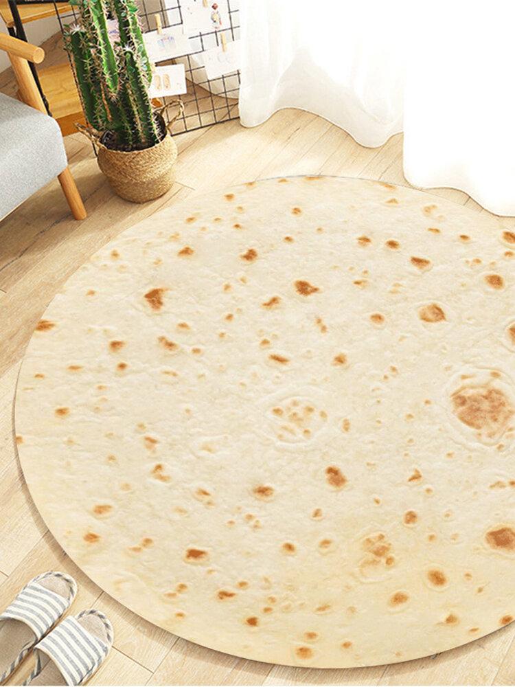 Burrito messicano Wrap Soft Comfort Coperta Soggiorno Cameretta Tappeto Picnic Panno