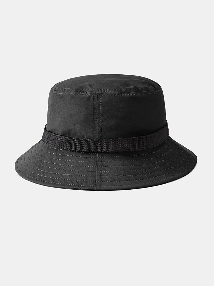 Breathable Collapsible Basin Hat Automatic Buckle Fisherman's Hat