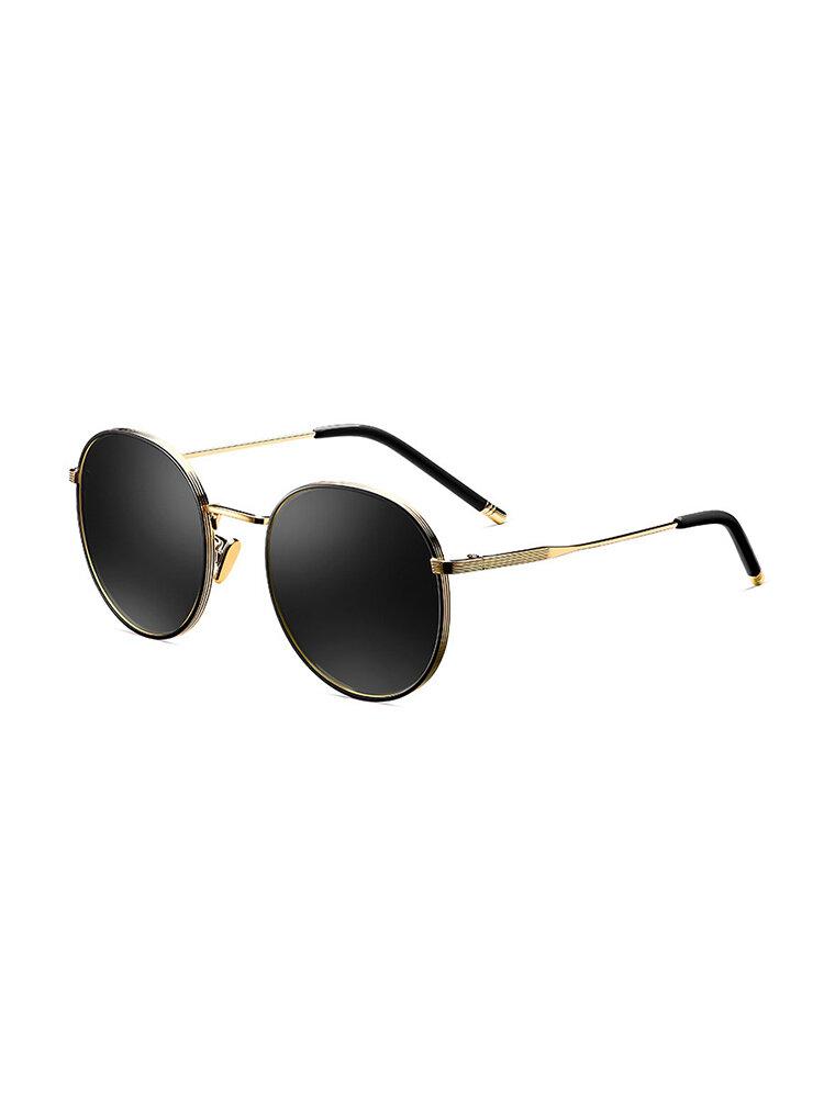Women's Classic Vintage TAC Metal Polarized Sunglasses Fashion Travel Glasses