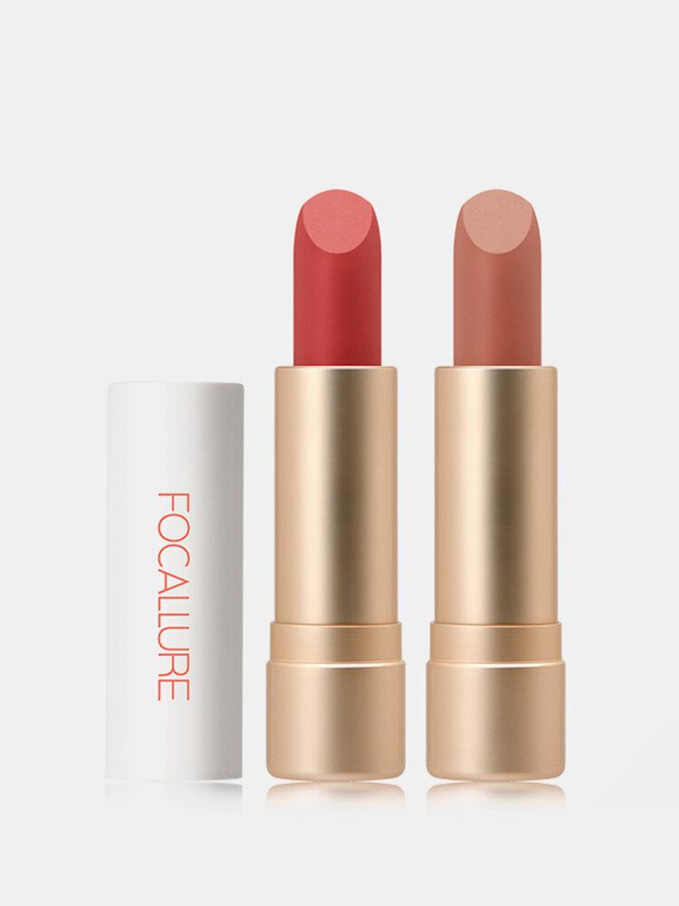 12 Farben Tragbarer Matter Lippenstift Langanhaltender feuchtigkeitsspendender Nude Velvet Lipstick Lip Cosmetic