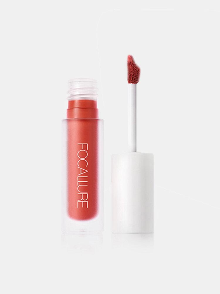 6 Farben Matte Lipgloss Langlebige wasserdichte Antihaft-Tasse No-Fade Lip Glaze