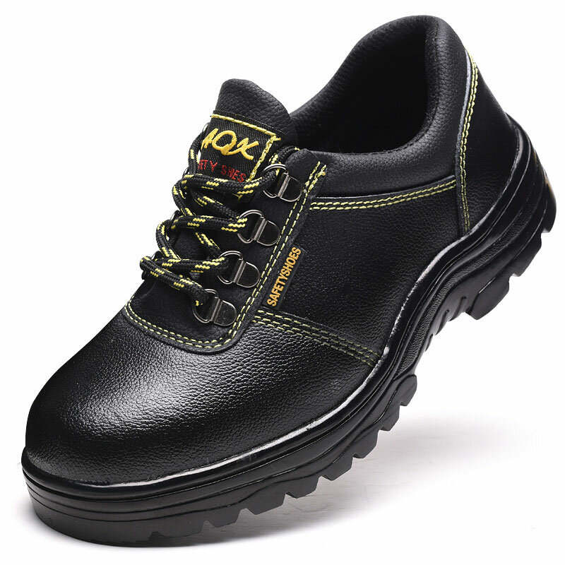 Mens Anti-smash Puncture Proof Non Slip Casual Safety Work Shoes