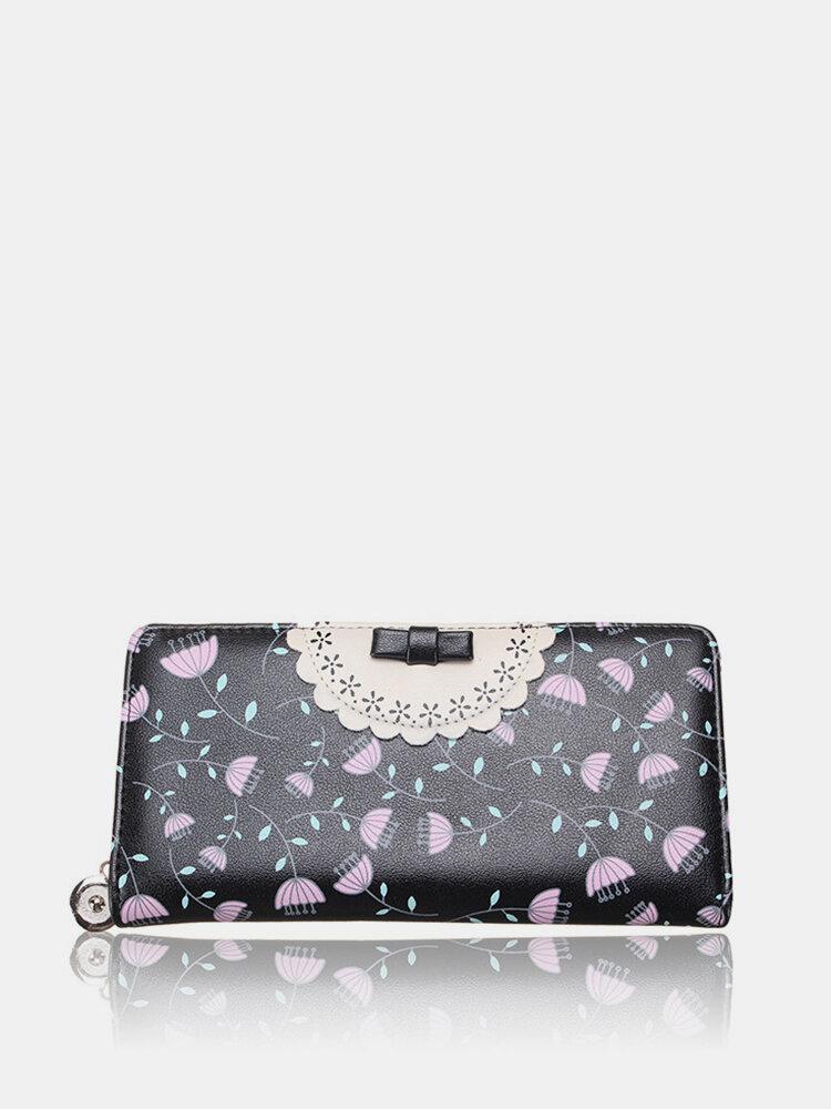 Women Cute Candy Color Long Wallet