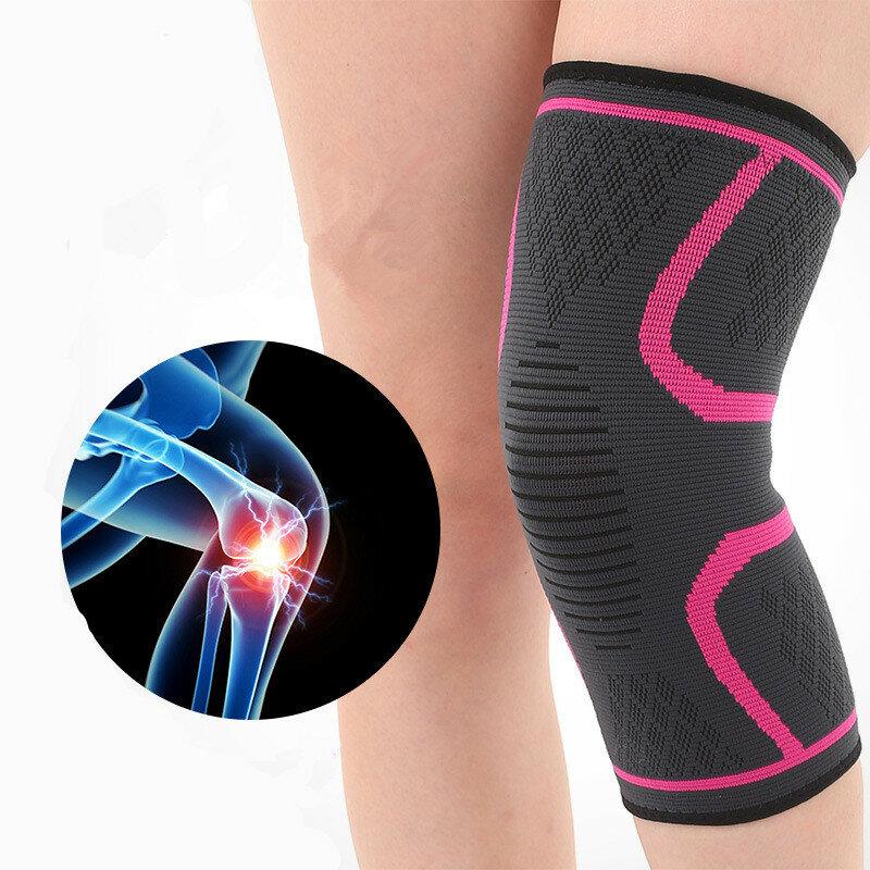 1 Piece Mens Women Non-slip High Elasticity Knee Protector Pad Gym Sports Outdoor Guard Kneepad