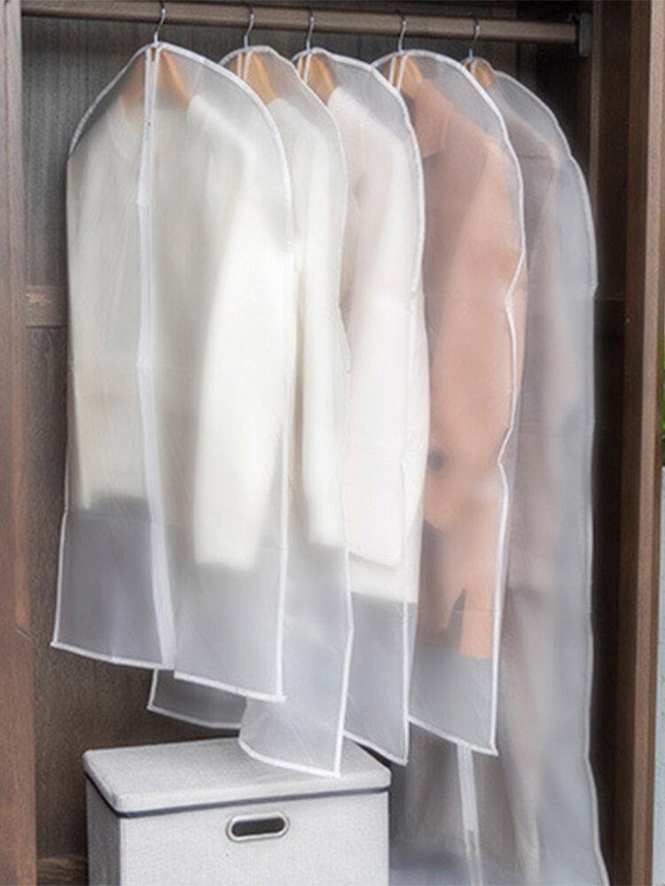Transparent Clothing Dust Cover Coat Suit Dust Bag Cover Storage Bag
