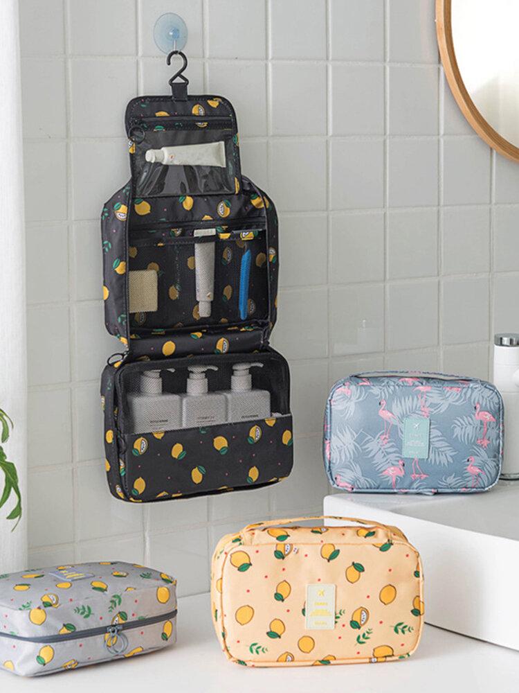 Reise wasserdichte Kosmetiktasche mit großer Kapazität Multifunktionaler tragbarer Waschbeutel