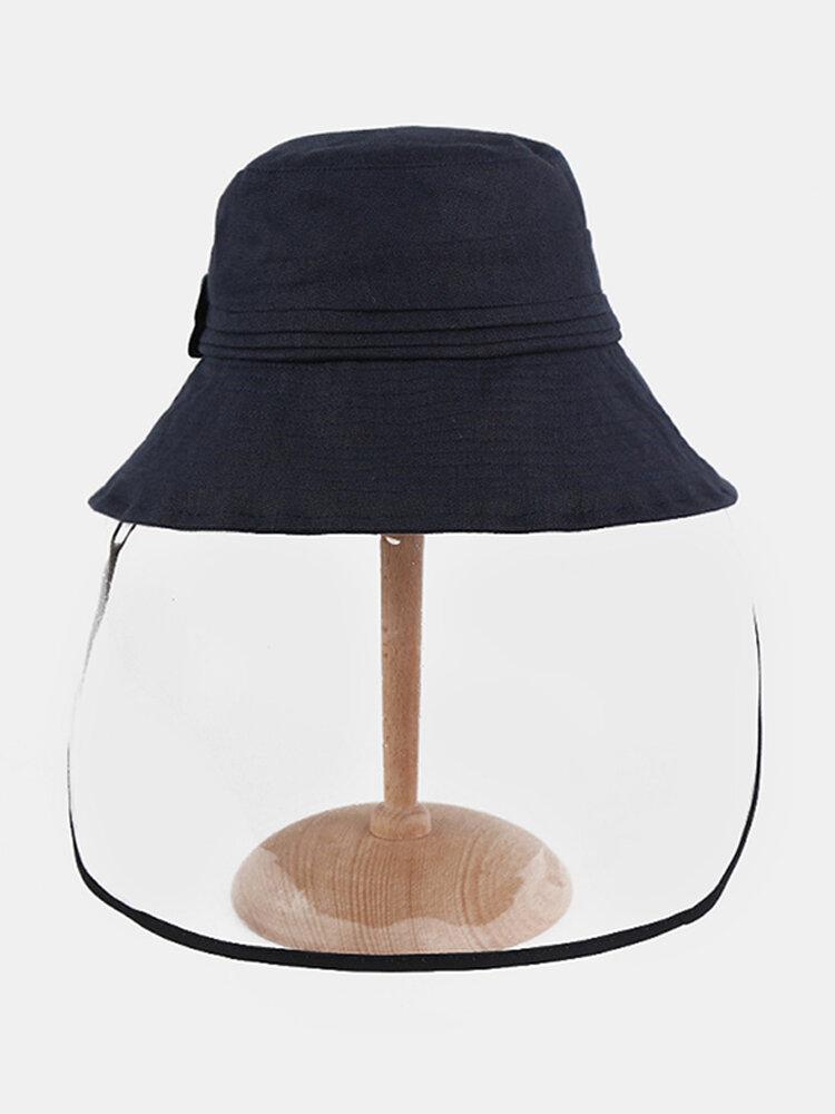 Anti-fog Big Brim Sun Hat Fisherman Hat Sun Visor