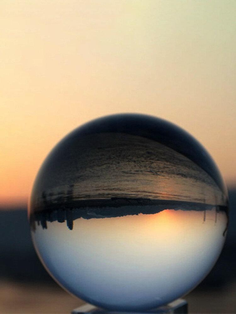 40-120 ملليمتر واضح ماجيك كريستال الكرة المجال الزجاج الزخرفية الكرة صور ديكور المنزل