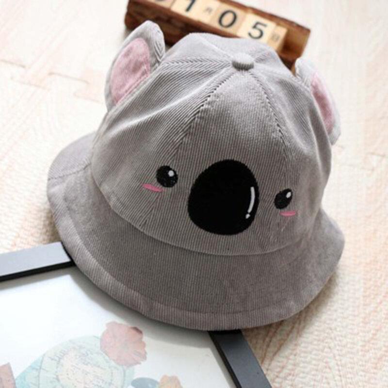 Cute Koala Shaped Kids Bucket Hat For 1-4 Years