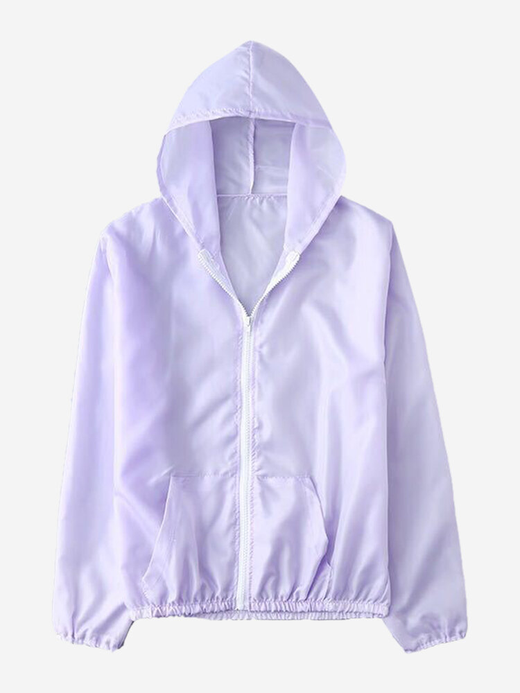 Thin Section Sun Protection Clothing Thin Coat