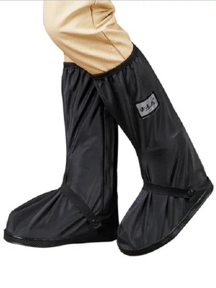 Mujer al aire libre Thicken Impermeable Antideslizante para lluvia a media pantorrilla Botas Fundas