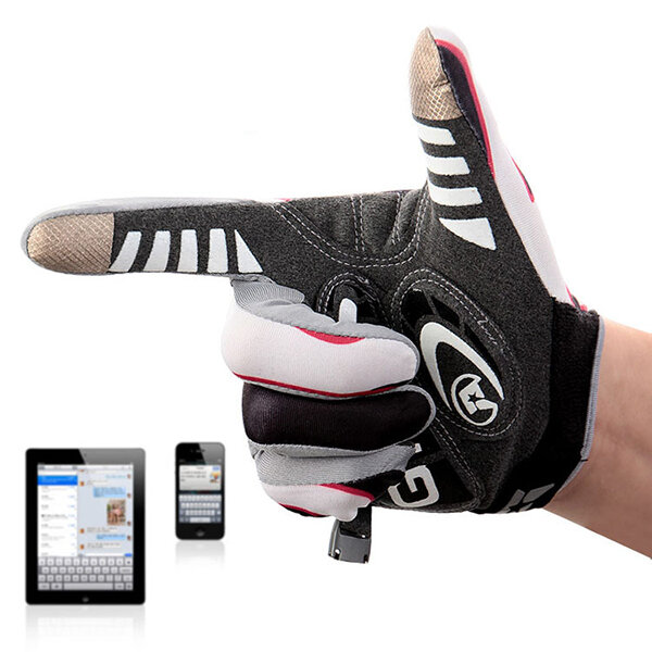 Mens Womens Thin Breathable Full-finger Gloves Outdoor Fitness Tactical Anti-slip Driving Gloves