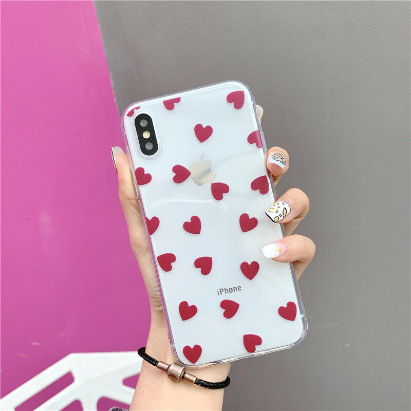Woman Cute Painted Popular Variety Pattern Soft Shell Phone Case