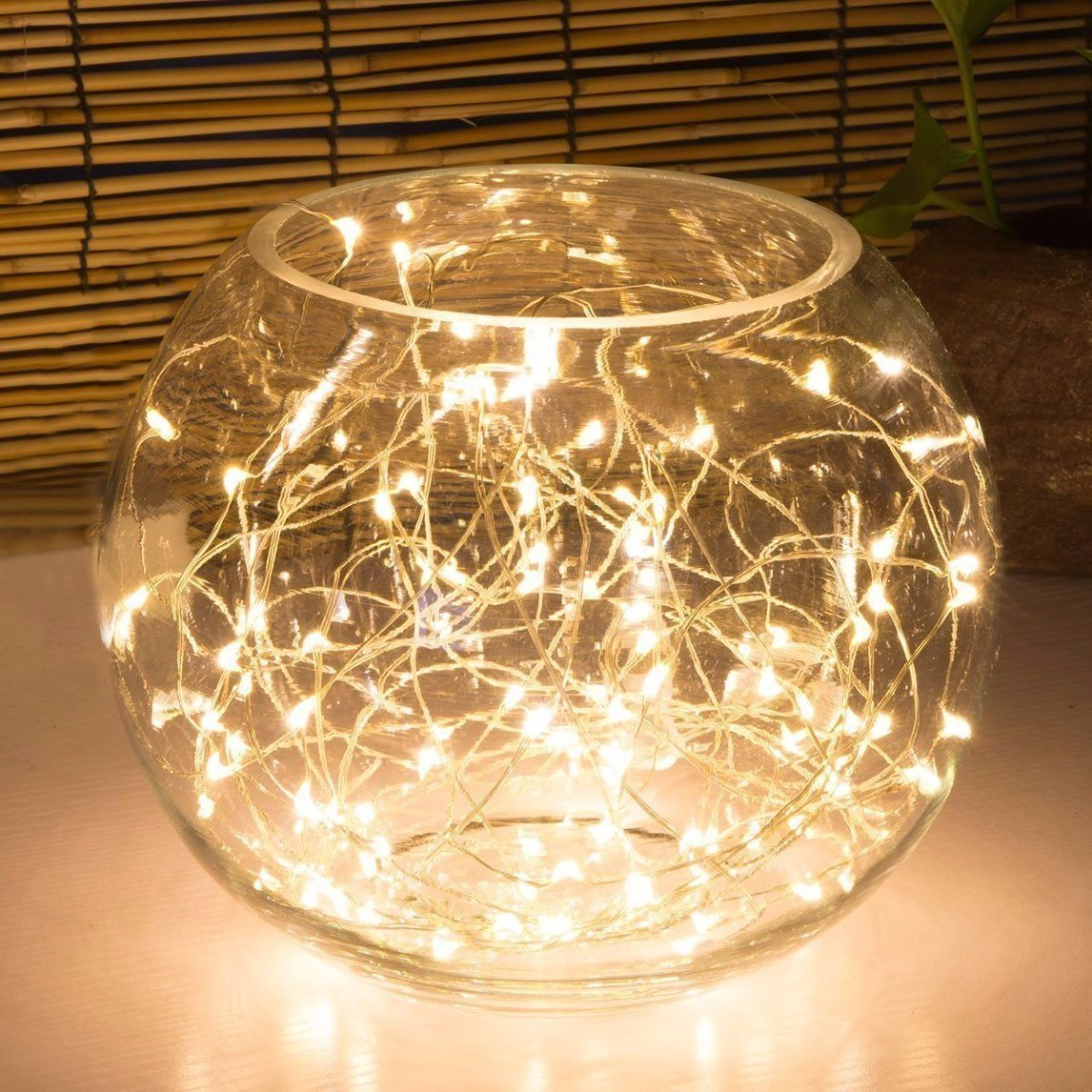 10m 100 Led Waterproof Copper String Fairy Lights Usb Charging Party Wedding Festival Home Decor