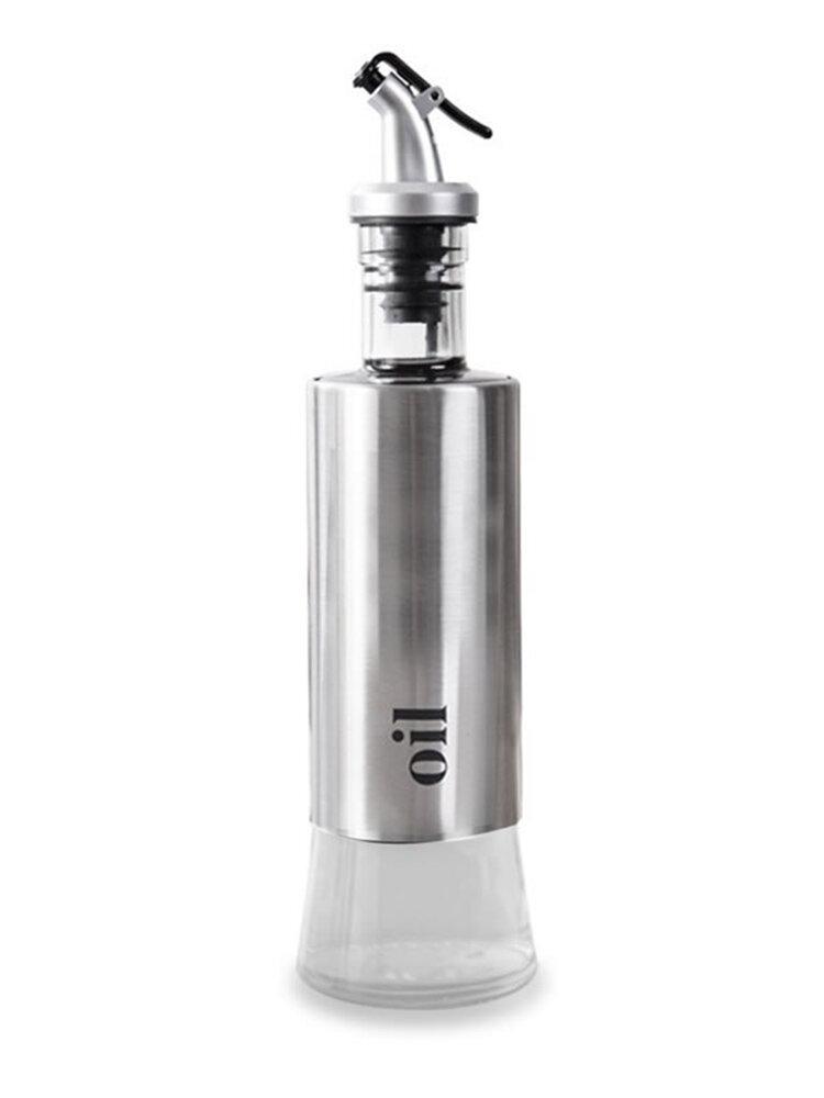 300mL Glass Oil Vinegar Sauce Bottle Set Olive Condiment Storage Container Dispenser BBQ Grill