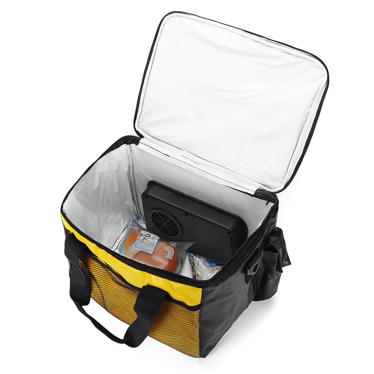 Portable Car Adapter Electric Lunch Box Heated Bento Food Warmer Bags Insulated Bag