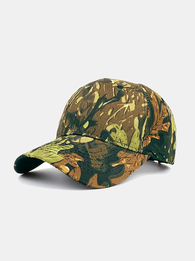 Men Women Camouflage Outdoor Leisure Sports Cap Baseball Cap