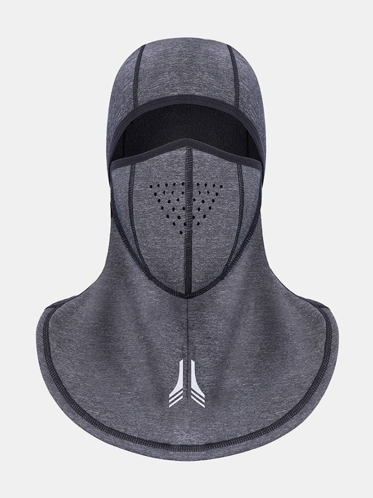 Mens Elasticity Thick Winter Face Neck Warm Hat Waterproof Thick Outdoor Ski Riding Face Mask Cap