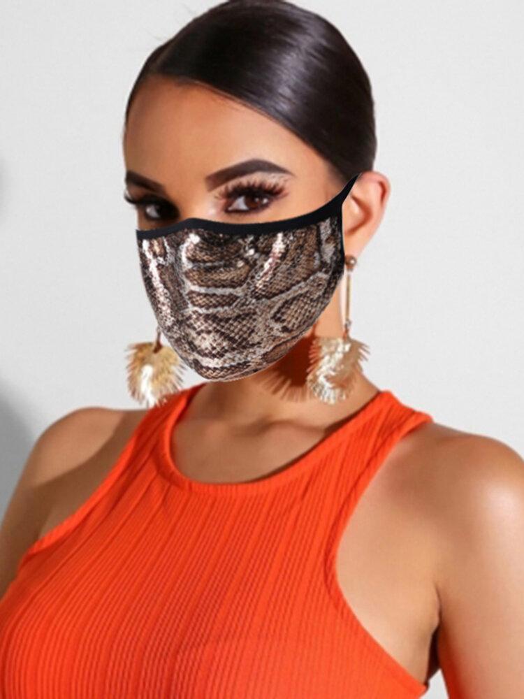 Cotton Mask Fashion Print Face Mask
