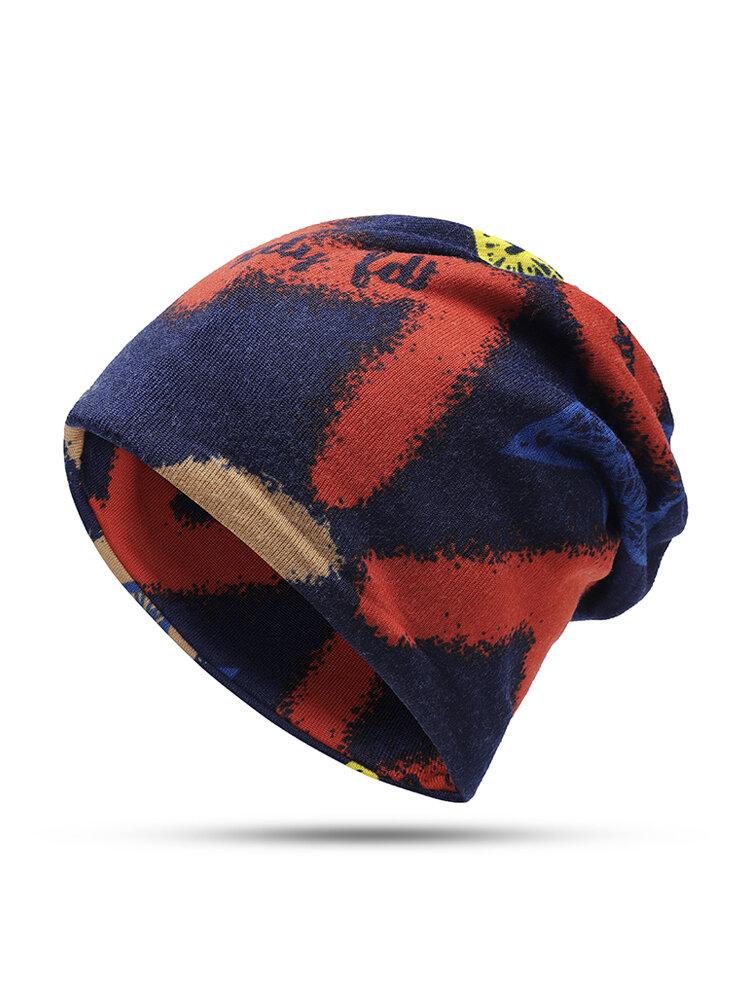 Женская зимняя теплая этническая шапка Шапка Винтаж Хорошая эластичная шапка для шарфа-тюрбана