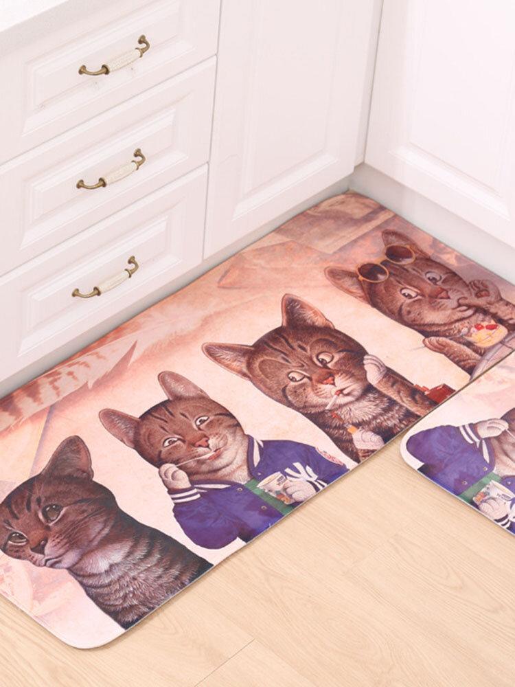 Waterproof Cartoon Door Mat Pad Mat Living Room Bedroom Bathroom Mats Mattresses Carpet