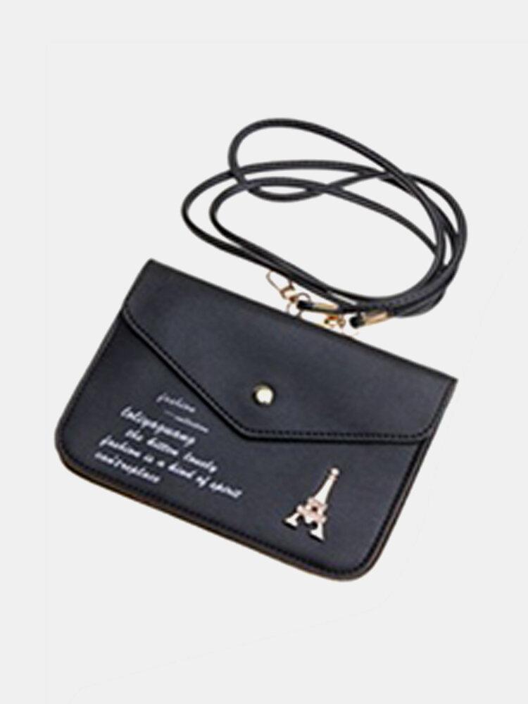 Fashion Women Letter Satchel Messenger Crossbody Bag