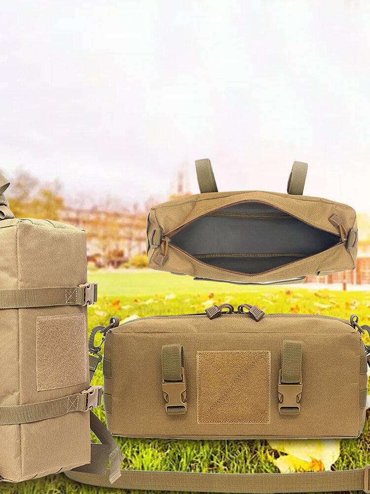 屋外の大きい残骸の貯蔵袋の防水戦術的な付属品Aportsポケットクライミングキャンプバッグ