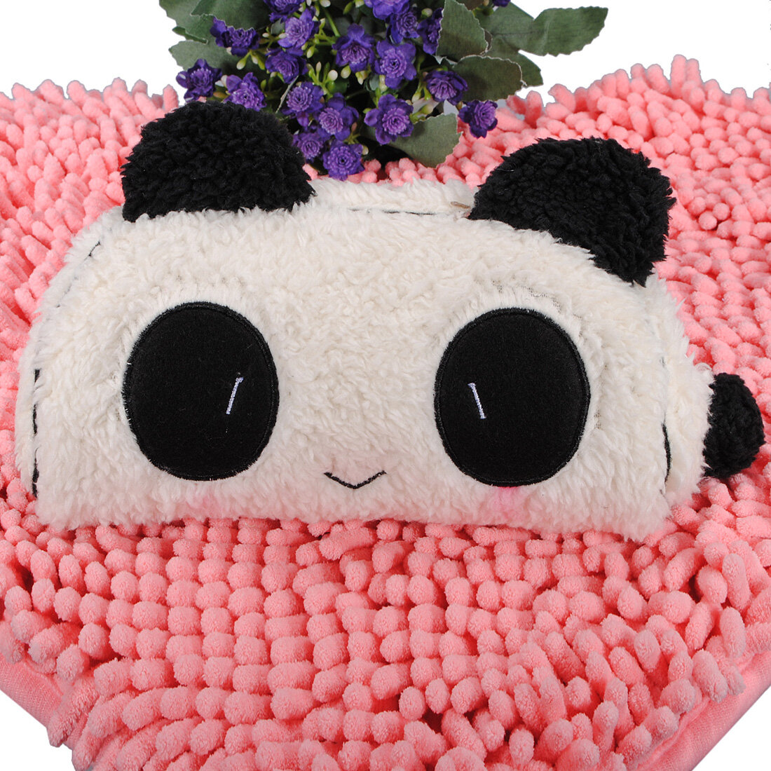 Panda Soft Plush Pencil Makeup Zipper Bag Case Pen Pocket Soft Plush Cosmetic Pouch Gift