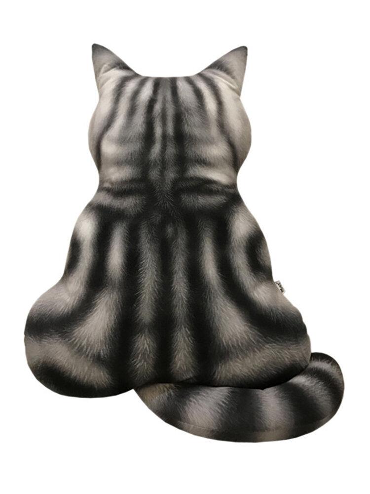 Cuscino per gatti con simulazione di regalo di peluche stampato in 3D