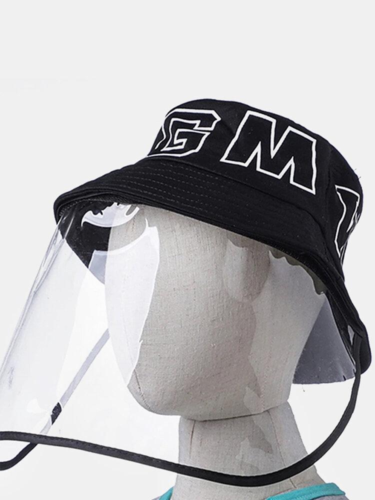 Detachable Face Screen Children's Sun Hat Windshield Fisherman Hat