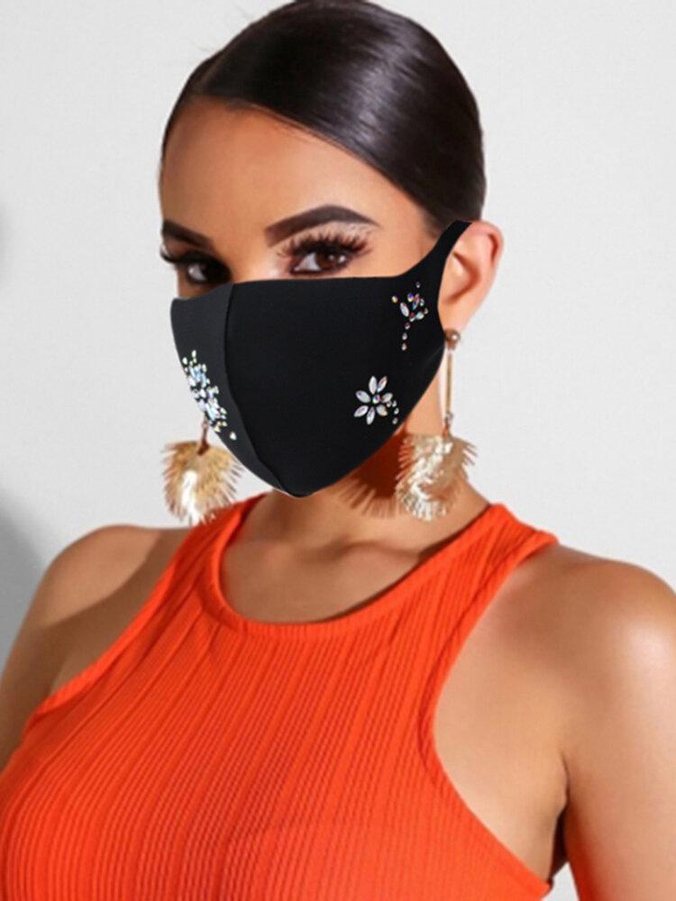 ダンスパーティーファッションフェイスマスクの女性の装飾マスク