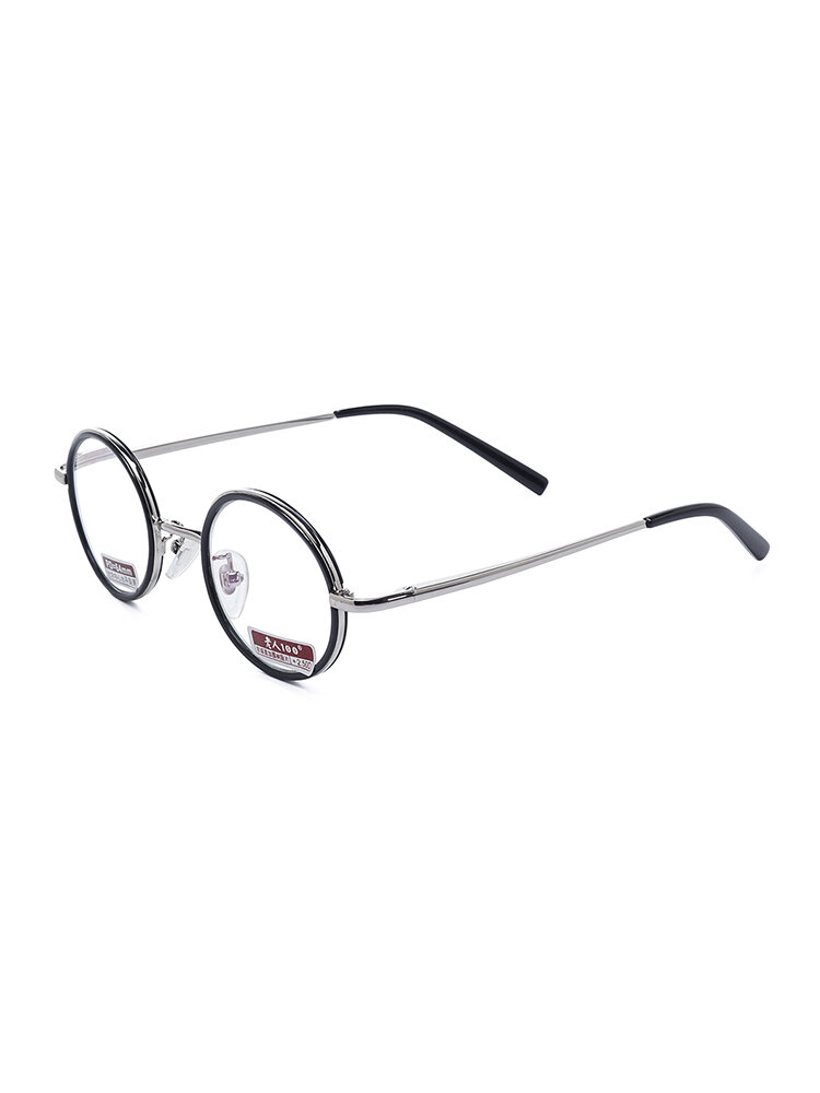 Mens Womens Metal Frame Vision Care Durable Reading Glasses Eyeglasses With Case