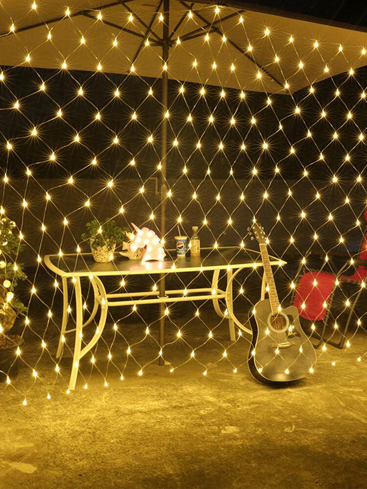 String Light Useful Fishing Net Shaped Creative Strip LED Light Decoration