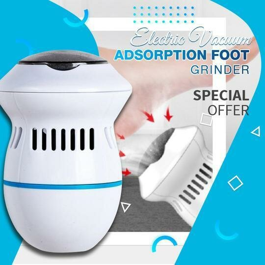 Electric Foot File Grinder Dead Skin Callus Remover for Foot Pedicure Tools Feet Care for Hard Cracked Foot Files Clean Tools