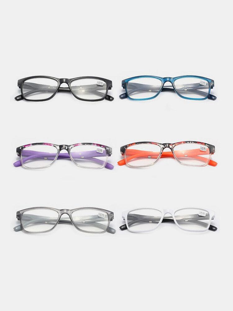 نظارات للقراءة فئة أ قطع مسافة عالية الوضوح نظارات قراءة تجارية لين للعناية بالعيون للجنسين
