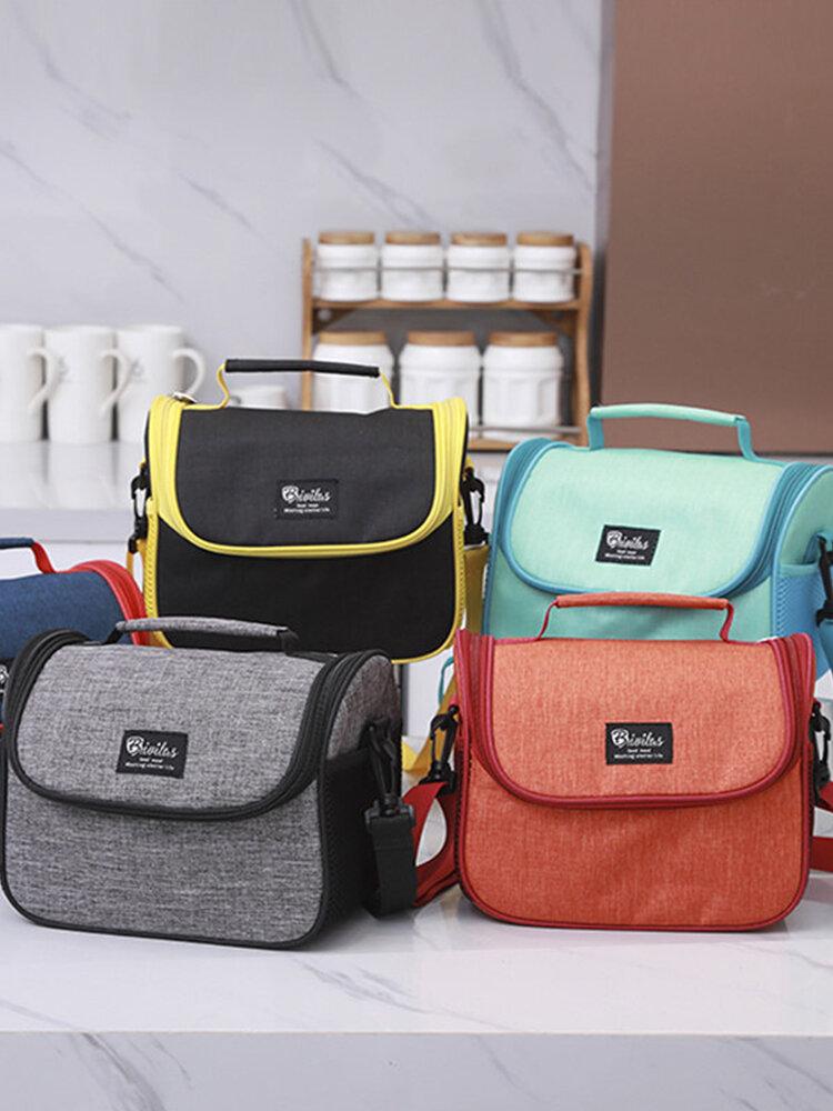حقيبة الغداء برودة معزول السفر المحمولة مع الكتف حزام مكتب حمل حقيبة نزهة في الهواء الطلق