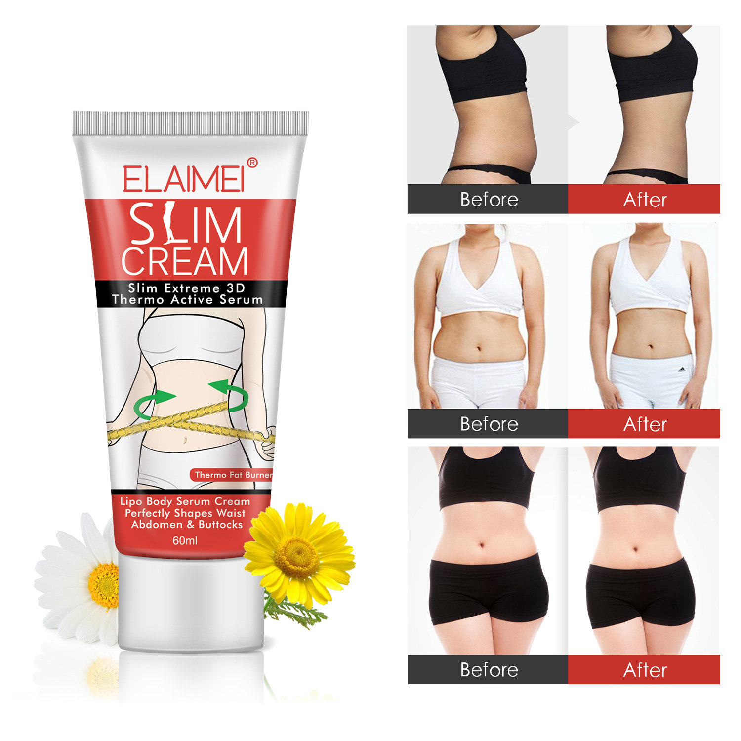 Body Slimming Gel Cream Fat Burning Losing Weight Massage Anti Cellulite Body Cream Body Care